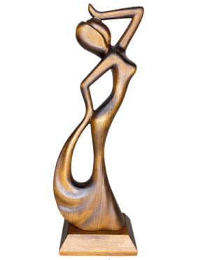 wooden statues female